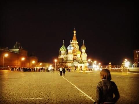 russia mosca san basilio piazza rossa